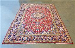 Sale 9102 - Lot 1160 - Pure wool hand knotted Persian Kashan (297 x 365cm)