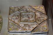Sale 7953 - Lot 84 - Chinese 9 Piece Serving Set