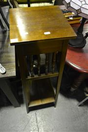 Sale 8058 - Lot 1089 - Maple Plant Stand