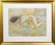 Sale 8259 - Lot 542 - William Boissevain (1927 - ) - Reclining Nude 53 x 72cm