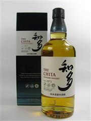 Sale 8263 - Lot 1700 - 1x Suntory Whisky The Chita Distillery Single Grain Japanese Whisky - in box