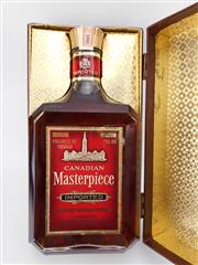 Sale 8531 - Lot 1973 - 1x Canadian Masterpiece Blended Canadian Whisky - bottled 1965, bottle no.10434633, 750ml in box