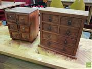 Sale 8550 - Lot 1429 - Small Drawer Units x 2