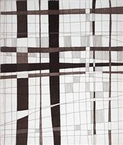 Sale 8980A - Lot 5084 - Una Foster (1912 - 1996) - Network, 1980 29 x 25 cm (sheet: 52 x 36.5 cm)