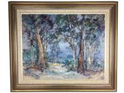 Sale 8607R - Lot 56 - Allan Hanson - Oil on Board (60 x 75cm)