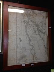 Sale 8622 - Lot 2081 - Original 1799 Engraved Map