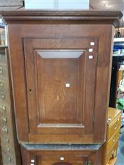 Sale 8697 - Lot 1060 - Timber Corner Wall Mount Cabinet