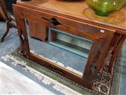 Sale 8843 - Lot 1083 - Rustic Timber Framed Mirror