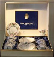 Sale 7950 - Lot 63 - Wedgewood Hathaway Rose Coffee Set In Box