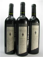 Sale 8278A - Lot 83 - 3x 1998 Yalumba The Octavius Old Vine Shiraz, Barossa Valley - sample bottles, foxed labels