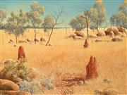 Sale 8665 - Lot 511 - David Dridan (1932 - ) - Australian Landscape 67 x 90cm