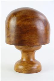 Sale 8860 - Lot 27 - Timber Hat Block (H25cm)