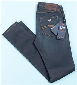 Sale 9091F - Lot 226 - A PAIR OF ARMANI JEANS with gold stiching skinny fit, size 24
