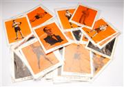 Sale 9086 - Lot 99 - A Collection Of Heroes of Sport Boxing Pictures Together With Early Booklet