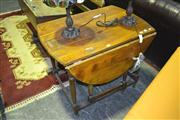 Sale 8165 - Lot 1022 - Timber Dropside Table