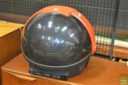 Sale 8275 - Lot 1036 - Vintage Discovery Helmet Form TV