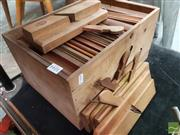 Sale 8493 - Lot 1044 - Good Set of Vintage Timber Bannister Planes by Mathieson