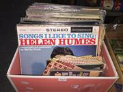 Sale 8659 - Lot 2460 - Box of Records & some 45s incl Keith Richards