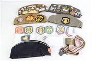 Sale 8960 - Lot 25 - A Collection Of Military Sidecaps (sizes 55, 56, & 57) And Pins Incl soviet Union