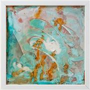 Sale 9071H - Lot 28 - Judy Chapman - Abstract frame size 33cm x 33cm