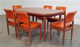 Sale 9188 - Lot 1234 - Chiswell 7 piece dining suite with extension table (h74 x w203 x d98cm)