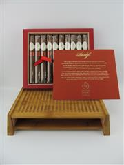 Sale 8423 - Lot 634 - 10x Davidoff Year of the Monkey Limited Edition Toro Cigars - bamboo and leather presentation box in slip case