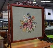 Sale 8566 - Lot 1546 - Tapestry Front Fire Screen