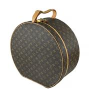 Sale 8618A - Lot 38 - A vintage French Louis Vuitton hat box;