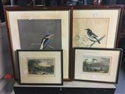 Sale 8659 - Lot 2102 - 4 T. Lindsay Bird Prints & 2 Coloured Engravings - English Country Scenes (6)