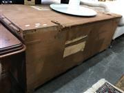 Sale 8782 - Lot 1385 - Large Timber Trunk