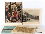 Sale 8994H - Lot 99 - Collection of various larger format prints -