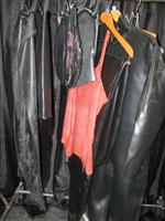 Sale 7926A - Lot 1796 - Latex clothing including hoods, trousers and full body suit