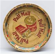 Sale 8287A - Lot 108 - A Pall Mall advertising tray, 32cm diameter