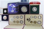 Sale 8391 - Lot 9 - Australian Silver Proof Coins incl Coin Sets