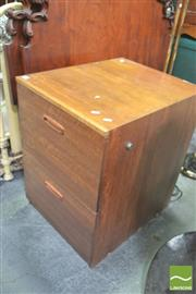 Sale 8418 - Lot 1085 - Timber Filing Cabinet