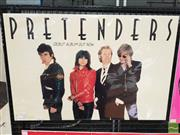 Sale 8421 - Lot 1024 - Vintage and Original The Pretenders Pictorial Promotional Poster (49cm x 73.5cm)