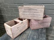 Sale 8962 - Lot 1044 - Collection of 3 Herb and Truffle Boxes (H:15cm)