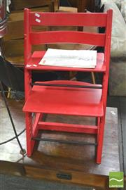 Sale 8404 - Lot 1060 - Tripp Trapp High Chair