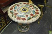 Sale 8431 - Lot 1030 - Chinese Ceramic Outdoor Table