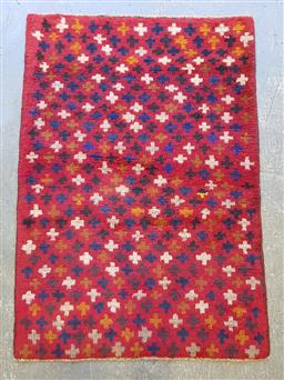 Sale 9102 - Lot 1156 - Pure wool hand knotted Persian Baluchi (134 x 84cm)