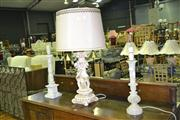 Sale 8165 - Lot 1049 - 3 Varied Table Lamps