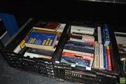 Sale 8214 - Lot 2323 - 2 crates of Medical & Other Books incl. Geffen, J. The Journey through Cancer; Nigol, V. & Wynn, A. Age Care Homes; Konner, M. ...