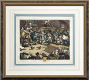 Sale 8325A - Lot 192 - William Hogarth (1697 - 1769) - Pit Ticket 29 x 36.5cm