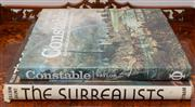 Sale 8308A - Lot 27 - Two hard back art reference books, Constable, and The Surrealists