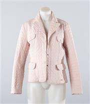 Sale 8760F - Lot 172 - A Max Mara Weekend quilted jacket in blush, size 10