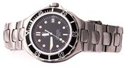 Sale 8937 - Lot 425 - AN OMEGA SEAMASTER PROFESSIONAL 200M QUARTZ WRISTWATCH; in stainless steel with black dial, center seconds, luminous hands and marke...