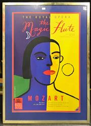 Sale 8945 - Lot 2074 - The Royal Opera The Magic Flute: Mozart Poster, 93.5 x 66.5cm (Frame) -