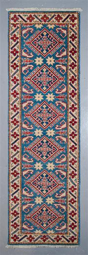 Sale 8545C - Lot 42 - Afghan Kazak Runner 220cm x 69cm