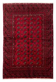 Sale 8800C - Lot 96 - An Afghan Tekke Hand Knotted Wool Rug, In A Hardy Weave Of Camel Foot Design, 160 x 240cm