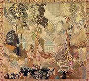 Sale 8972H - Lot 44 - A classic Aubusson style tapestry, Height 166cm x Width 178cm